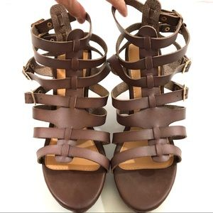Torrid Gladiator Platform Wedge Sandals